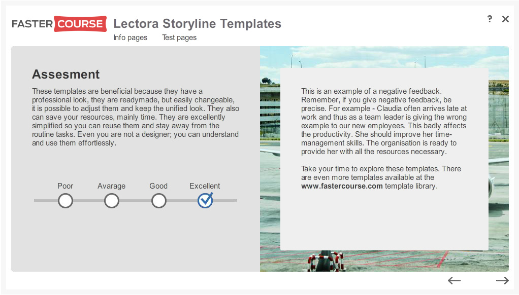 Articulate Storyline Free Guide Assessment Preview
