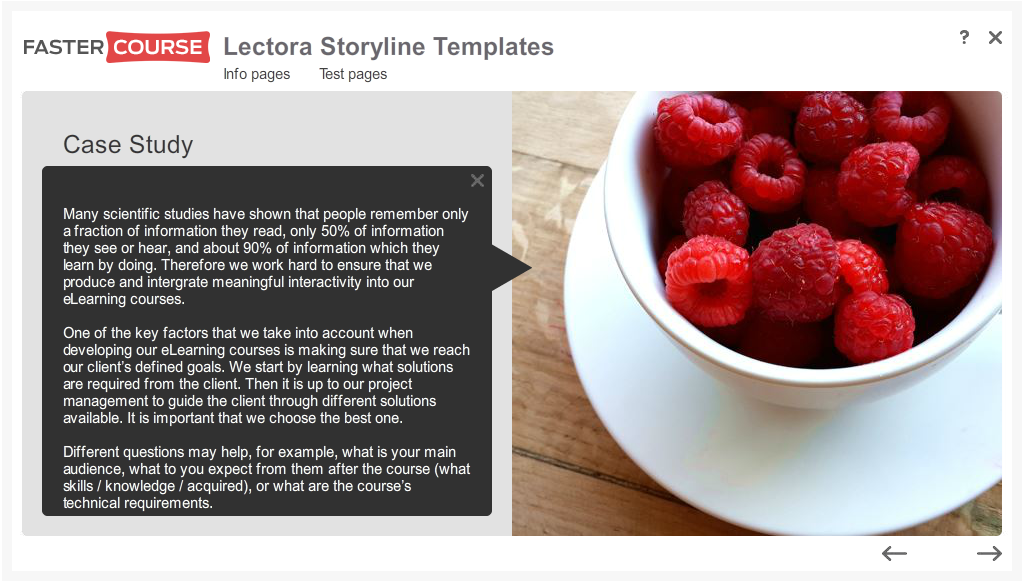 Articulate Storyline Free Guide Case Study Preview