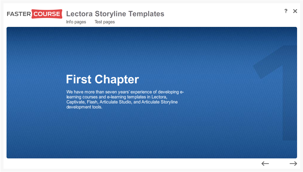 Articulate Storyline Free Guide Chapter Intro Preview