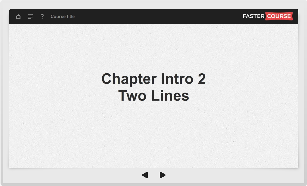 Articulate Storyline Guide Course Intro 2 Lines Preview