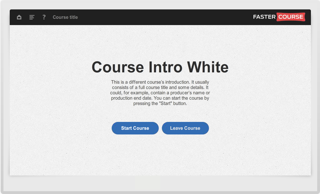 Articulate Storyline Guide Course Intro White Preview