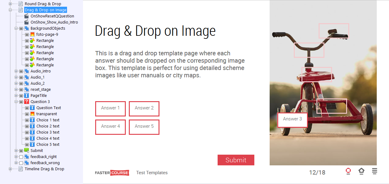 Drag & Drop on Image