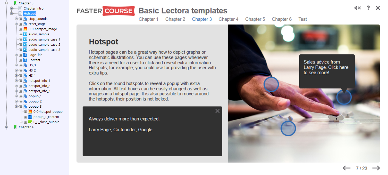 Basic Template Guide - Lectora Templates - FasterCourse