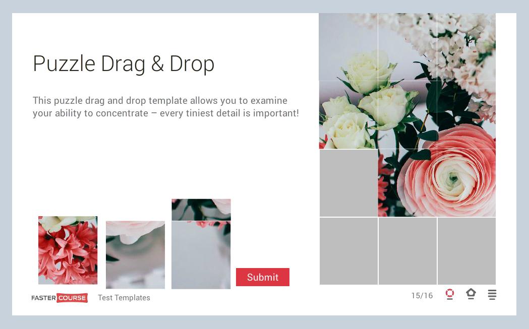 Puzzle Drag & Drop