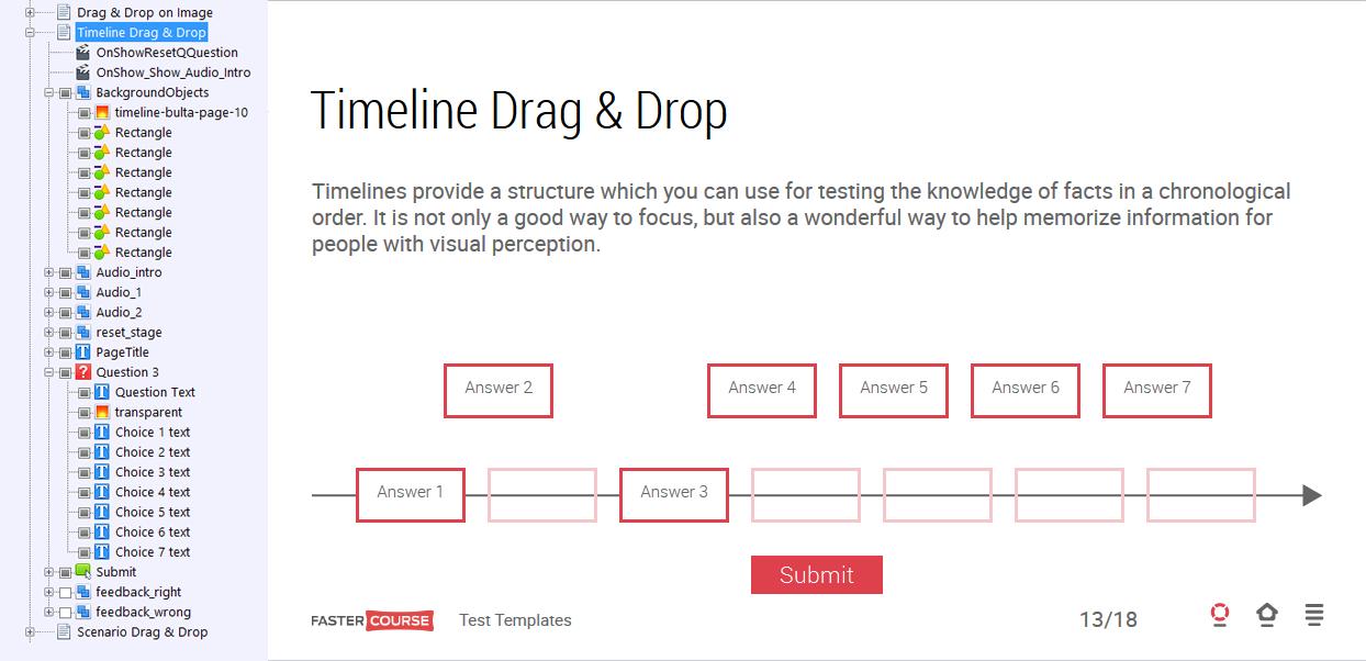 Timeline Drag & Drop